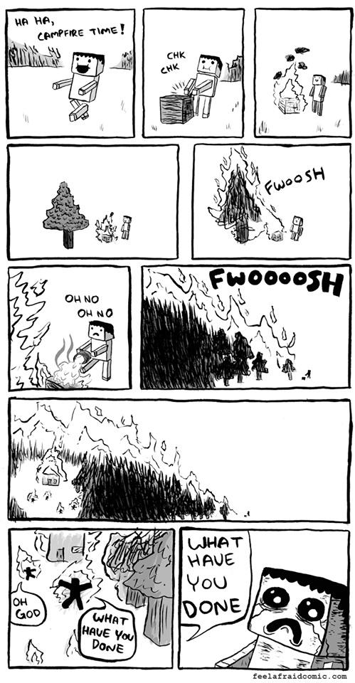http://img.niceminecraft.net/Funny/Minecraft-Campfire.jpg