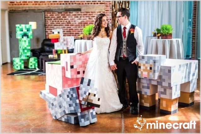 http://img.niceminecraft.net/Funny/Minecraft-Wedding-1.jpg