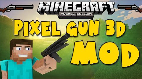 Pixel Gun 3D Mod for MCPE - Minecraft 1 14 3