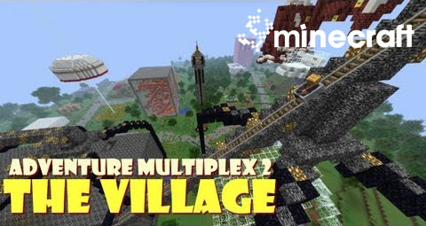 http://img.niceminecraft.net/Map/Adventure-Multiplex-2-The-Village-Map.jpg