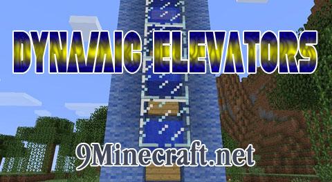 Скачать мод dynamic elevators для майнкрафта 1 6 4