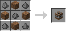 http://img.niceminecraft.net/Mods/Extreme-TNT-Farming-Mod-recipe_dirt_tnt.png