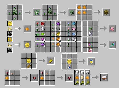 Зеленный краситель в майнкрафт как сделать - Minecraft Minecraft