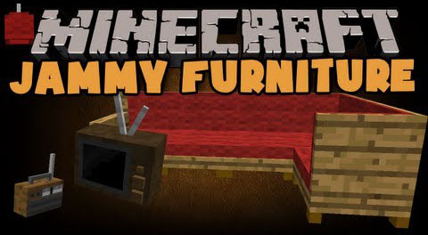 Jammy furniture reborn mod minecraft for Furniture mod 1 12 2