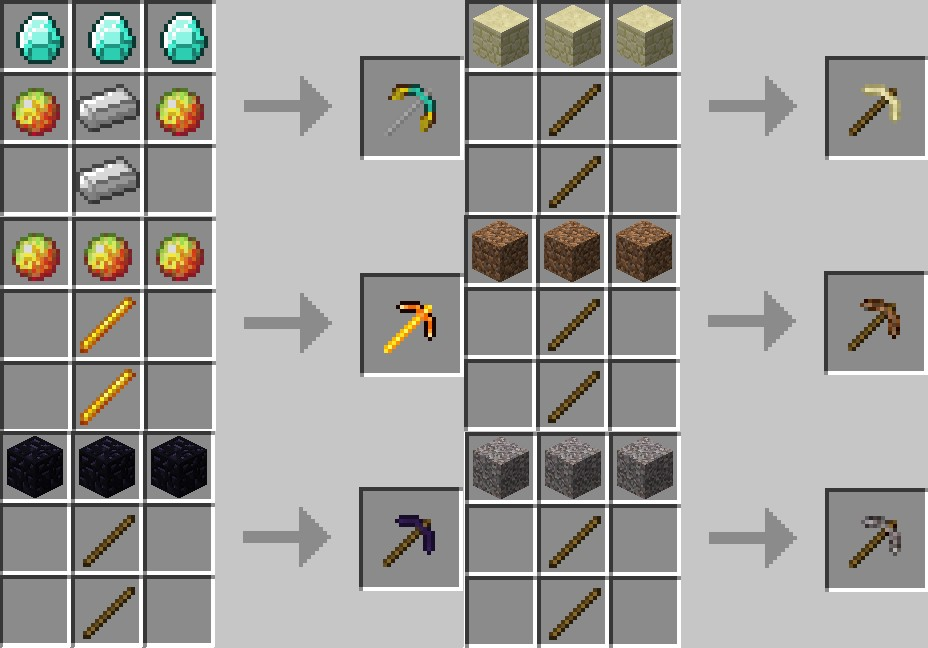 http://img.niceminecraft.net/Mods/More-Pickaxes-Mod-1.jpg