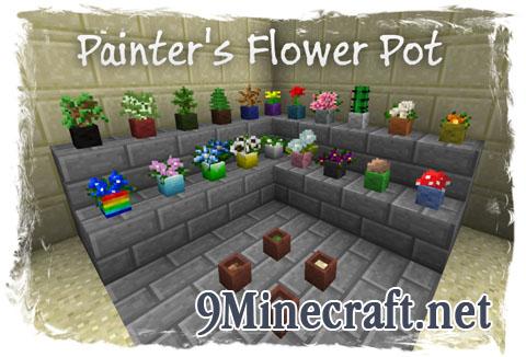 http://img.niceminecraft.net/Mods/Painters-Flower-Pot-Mod.jpg