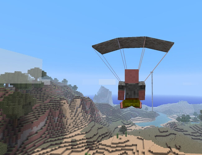 http://img.niceminecraft.net/Mods/Parachute-Mod-1.jpg