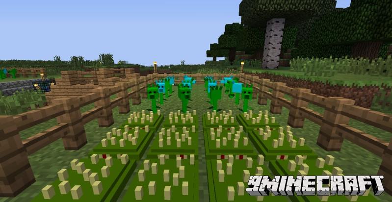 Plants-Vs-Zombies-Minecraft-Warfare-Mod-2.jpg