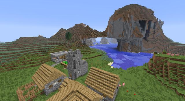 http://img.niceminecraft.net/Seed/Extreme-Hills-NPC-Village-Seed-1.jpg