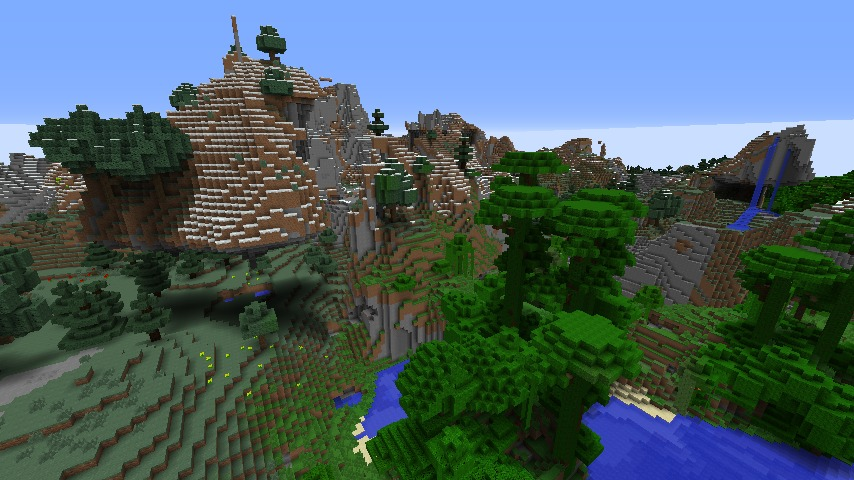 http://img.niceminecraft.net/Seed/Floating-Mountains-Town-Seed-1.jpg