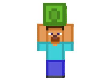 Steve-lifting-a-smaragdblock-skin.png